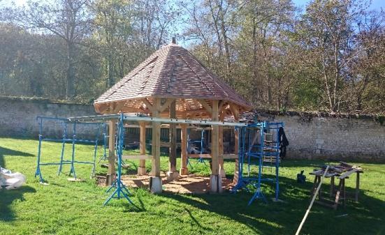 Rénovation et réparation de charpente - Kiosque proche de Bourg Achard (27)