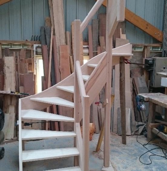 Fabrication et pose d'escalier à Bourg Achard (27)