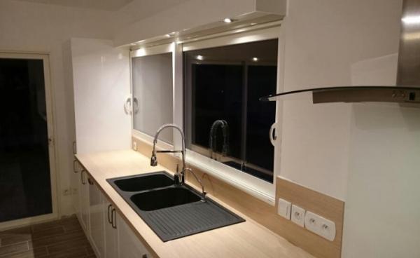 Création de cuisine Moderne à Bourg Achard (27)