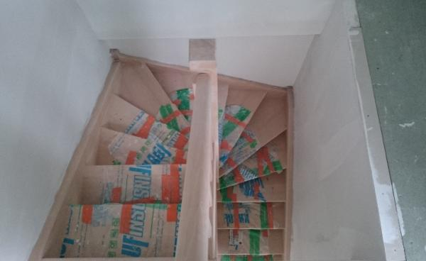 Fabrication d'escalier dans maison d'habitation à Bourg Achard (27)
